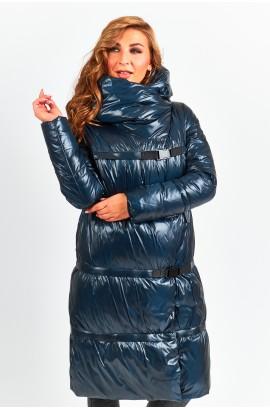 Куртка-трансформер удлиненная женская Tongcoi 7007 (498) Изумруд