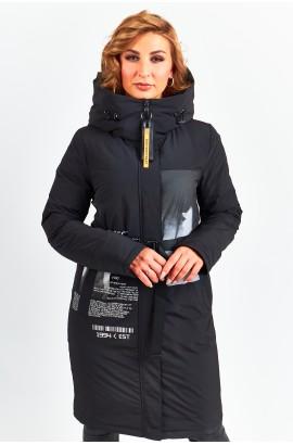 Куртка удлиненная женская Tongcoi 7757 (701) Черный
