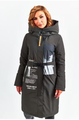 Куртка удлиненная женская Tongcoi 7757 (490) Хаки