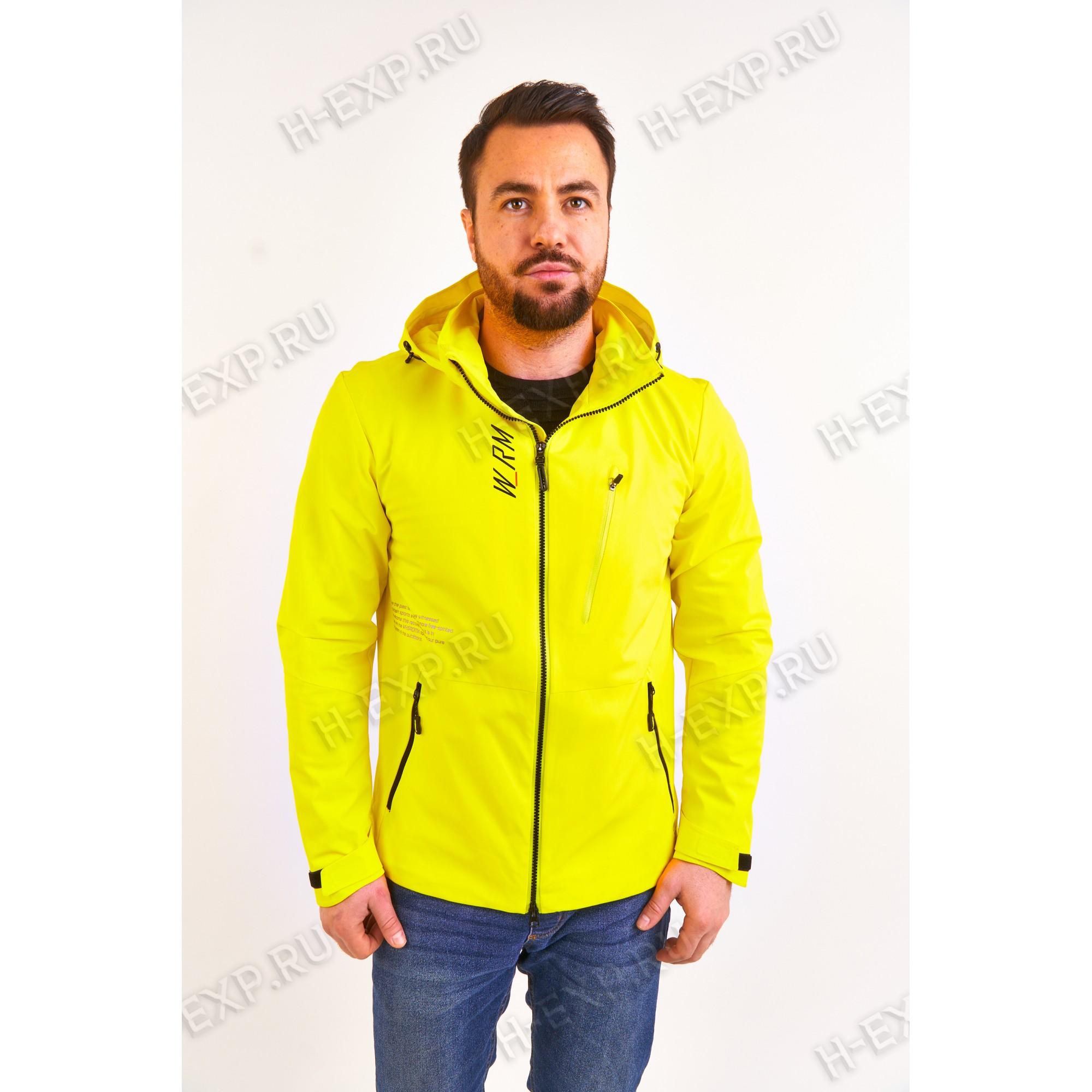 Ветровка весна-осень мужская WHS 311107 (Y03) Желтый