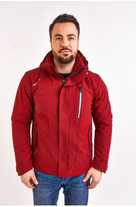 Куртка весна-осень мужская WHS 611303 (R08) Красный