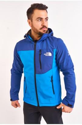 Куртка весна-осень мужская The North Face 8021 Бирюзовый