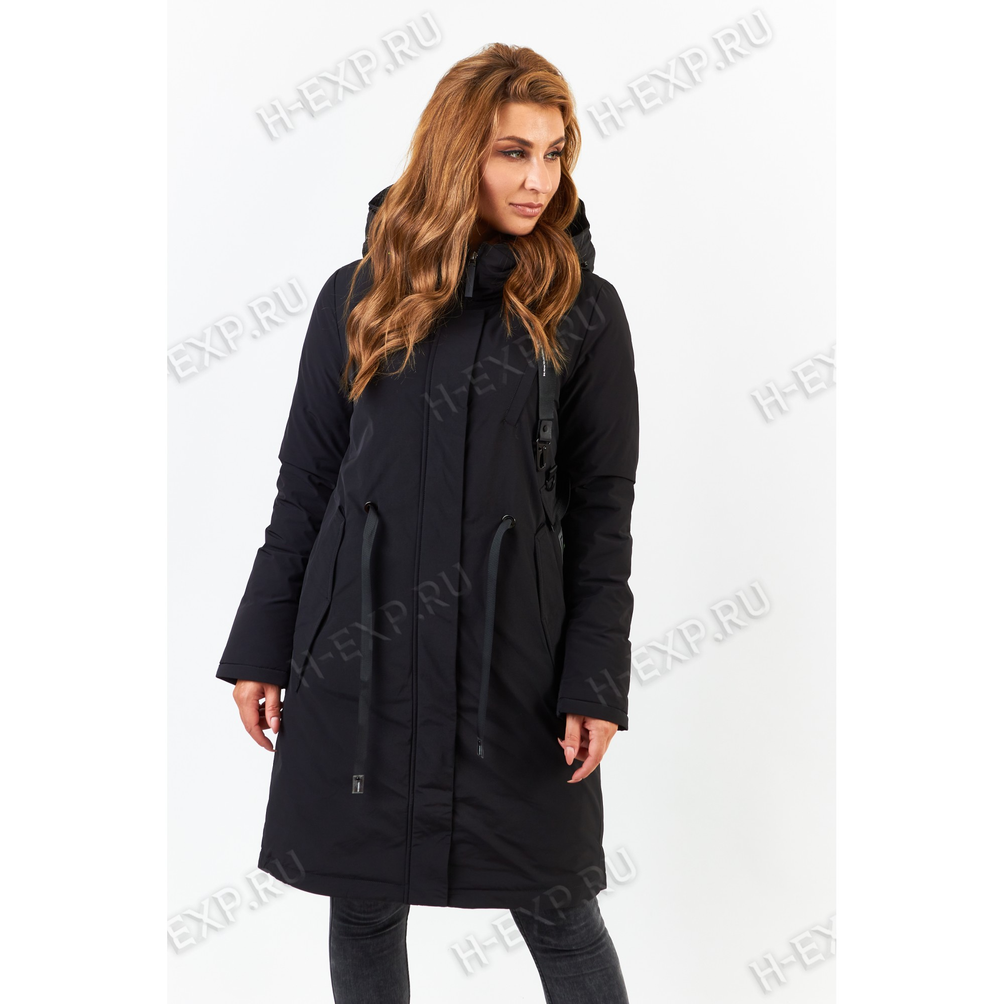 Куртка удлиненная Tongcoi 7178 (701) Черный