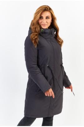 Куртка удлиненная Tongcoi 7178 (711) Серый