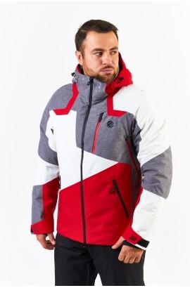 Куртка мужская WHS 510007 (W01) Серо-красный