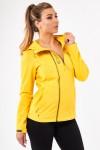 Kуртка-виндстоппер весна-осень женская High Experience 11658 (5528) Желтый