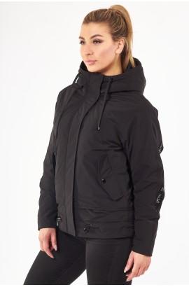 Куртка весна-осень женская Tongcoi М18 Черный