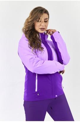 Куртка женская High Experience 11077 (4012) Фиолетовый