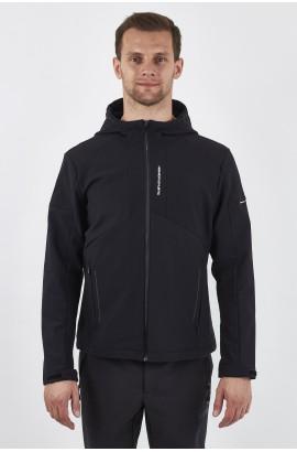 Ветровка-виндстоппер софтшелл мужская High Experience 0226 (0) Черный