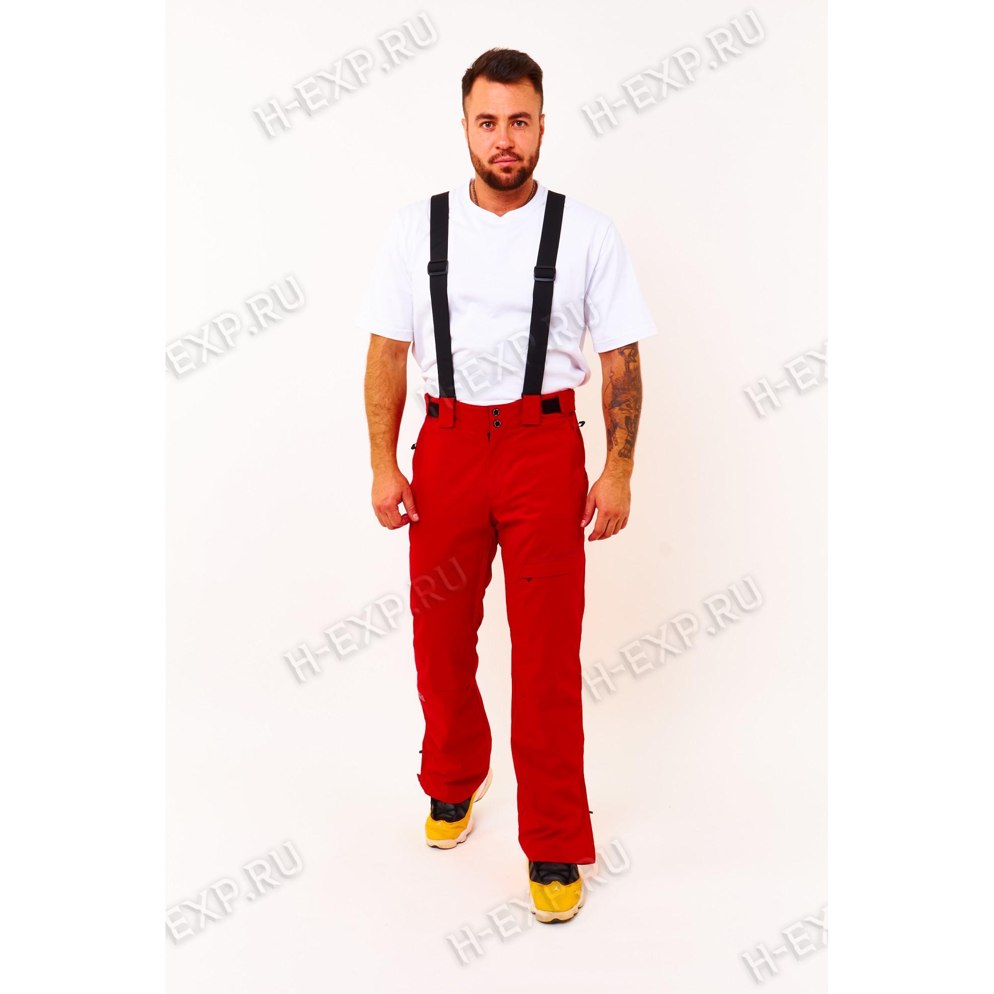 Штаны горнолыжные мужские Tisent 521203 (R02) Красный