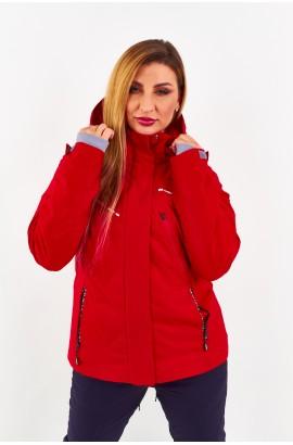 Куртка женская Tisent 5510102 (R02) Красный