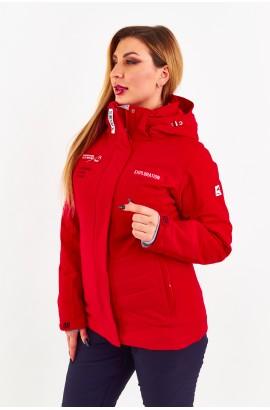 Куртка женская Tisent 5510110 (R02) Красный