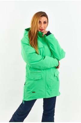 Куртка удлиненная женская Tisent 551044 (G07) Ментол