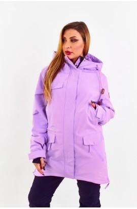 Куртка удлиненная женская Tisent 551044 (Z08) Сиреневый