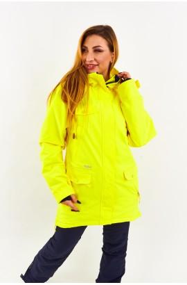 Куртка удлиненная женская Tisent 551044 (Y03) Желтый