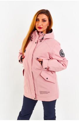 Куртка удлиненная женская Tisent 5510144 (Р06) Розовый