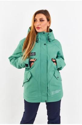 Куртка удлиненная женская Tisent 5510144 (G19) Ментол