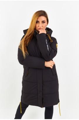 Куртка-парка женская Tisent 7513106 (В01) Черный