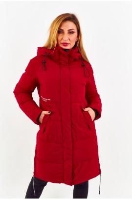 Куртка-парка женская Tisent 7513106 (R08) Красный
